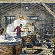 Soap Manufacture, C1870 Art Print