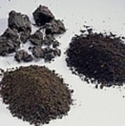 Soil Samples Art Print