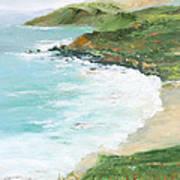 Somewhere On Big Sur Art Print by Max Mckenzie