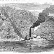 South: Cotton, 1861 Art Print