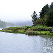 Spring Morning Big Ditch Lake Art Print
