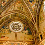 St Francis Basilica   Assisi Italy Art Print