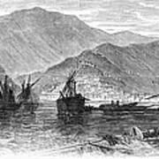 St. Thomas: Hurricane, 1867 Art Print