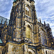 St Vitus Cathedral - Prague Art Print