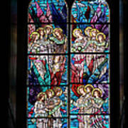 Stained Glass Pc 05 Art Print