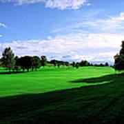 Stirling Golf Club Fairway Art Print