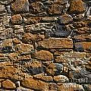 Stone Wall Art Print