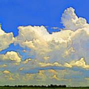 Storm Clouds Rising  Art Art Print