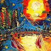 Sun City Art Print