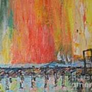 Sunrise at the Pier - SOLD Art Print