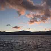 Sunset Over Lake Tahoe Art Print