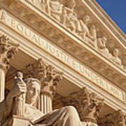 Supreme Court Art Print