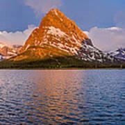 Swiftcurrent Lake Panorama Art Print