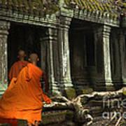 Ta Prohm Cambodia Art Print