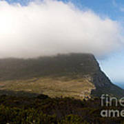 Table Mountain National Park Art Print by Fabrizio Troiani