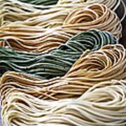 Tagliolini Pasta Art Print