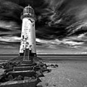 Talacre Lighthouse Art Print