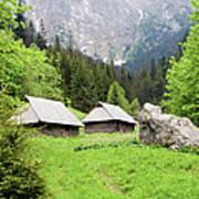Tatra Mountains In Poland Art Print