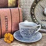 Tea Time Art Print by Jane Linders