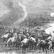 Texas: Cattle Drive, 1867 Art Print