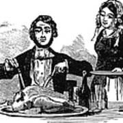 Thanksgiving, 19th Century Art Print