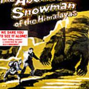 The Abominable Snowman, Aka The Art Print