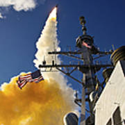 The Aegis-class Destroyer Uss Hopper Art Print