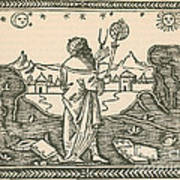 The Astrologer Albumasar Art Print