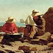 The Boat Builders Art Print