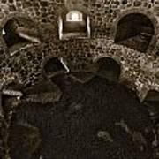 The Castle Of Tavastehus Bw Art Print