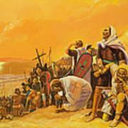 The Crusades Art Print by Gerry Embleton