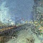 The El Art Print by Childe Hassam