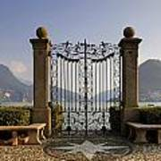 The Gateway To Lago Di Lugano Art Print