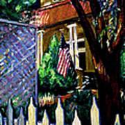 The Grant House Art Print