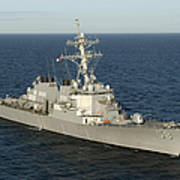 The Guided-missile Destroyer Uss Laboon Art Print