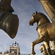 The Horses On The Basilica San Marcos Art Print