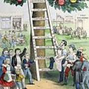 The Ladder Of Fortune Art Print