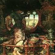 The Lady Of Shalott Art Print