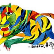 The New Tiger Art Print