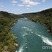 The Niagara River Art Print