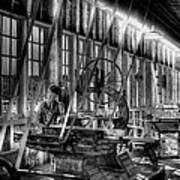 The Red Barn Of The Boeing Company Iv Art Print