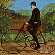 The Rover Bicycle Art Print