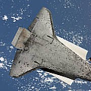 The Underside Of Space Shuttle Art Print