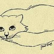 Thomas The Cat Art Print