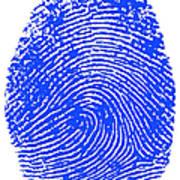 Thumbprint Art Print