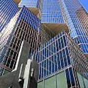 Toronto Financial Core Buildings Art Print
