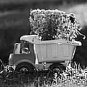 Toy Truck Planter Art Print