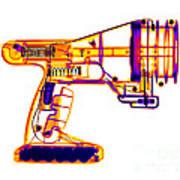 Toy Vortex Gun Art Print