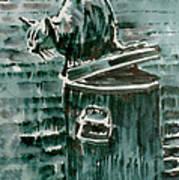 Trashcan Tom Art Print
