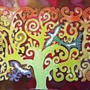 Kazaksha Tree Of Life Art Print